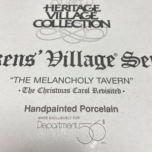 Melancholy Tavern by Department 56